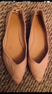 Nude Flats - Size 8.5