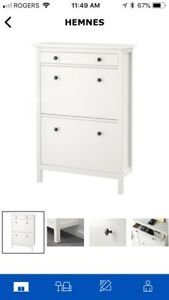 Cabinet for shoe storage, small items.