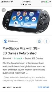 I want a ps vita slim