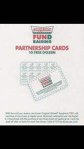 Krispy Kreme Doughnuts 10  Buy One Dozen Get One Card -10 BOGO - No Exp