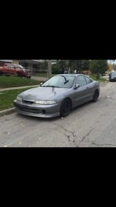 Boosted jdm Acura integra