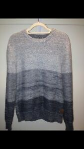 GREY ROOTS KNIT SWEATER