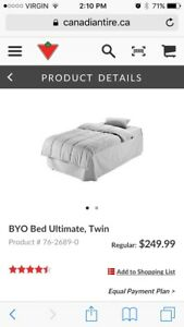 BYOB twin from Canadian tire