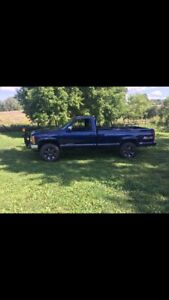 1993 GMC Sierra Plow truck trade for enclosed trailer?
