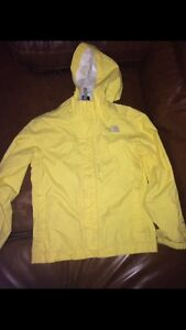 The North Face Girls Rain Jacket- size 7-8