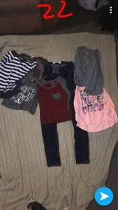 Lot of girls clothes