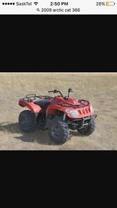 Parting out 2009 arctic cat 366 4x4