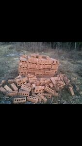 Over 300 New Red Clay Bricks