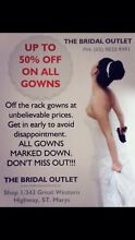 THE BRIDAL OUTLET Castlereagh Penrith Area Preview