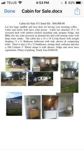 Cabin for sale on Westside Rd Vernon BC