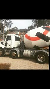 Concrete truck and contract with Holcim