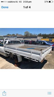 FORD STEEL UTE TRAY SUIT AU BA BF FG AND TOYOTA Hilux  Wacol Brisbane South West Preview