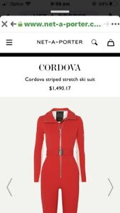 Luxury stylish designer Cordova snow board wear ski suit winter cold