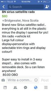 BN Sirius satellite radio!