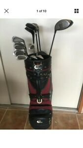 Golf Set PGF statesmen plus irons with woods and bag