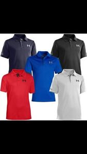 Looking for Under Armour golf shirts size youth Large