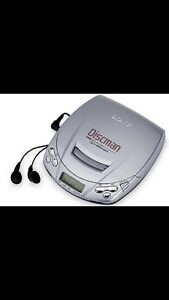 ISO a discman or an old stereo with CD player