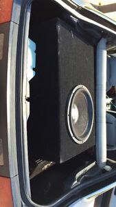 Shok 15inch sub in custom built box Woodroffe Palmerston Area Preview