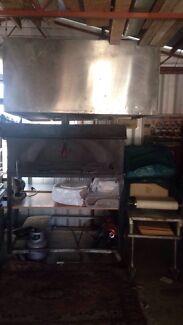 Full brick pizza oven set up  Croydon Park Port Adelaide Area Preview