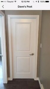 Professionally painted interior Lyndon doors