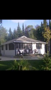 3 BR Cabin Victoria Beach MB weekly rental Aug 2018