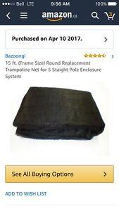 Brand new trampoline net