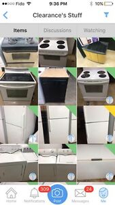 Huge assortment of like new appliances at unbeatable prices