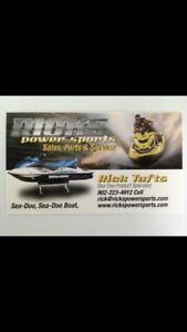 SeaDoo Parts & Service over 23 Years Experience