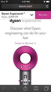sechoir a cheveux dyson supersonic