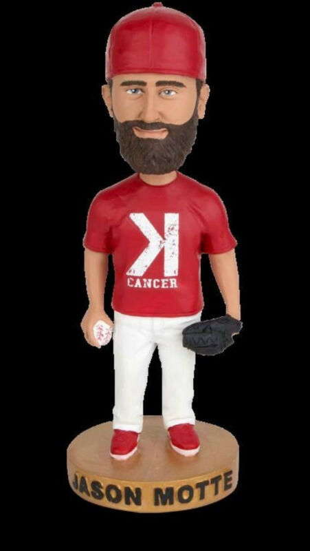 MLB Strike-Out For Cancer St. Louis Cardinals Jason Motte Bobblehead SGA 9/2