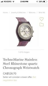 TechnoMarine Stainless Steel quartz Women's Wristwatch