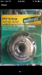 Wolcraft Twisted Wire Cup