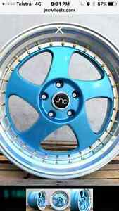 4 Brand New JNC Deep Rim 18x10 5x114.3 Dee Why Manly Area Preview
