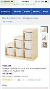 Toy storage (two sets)