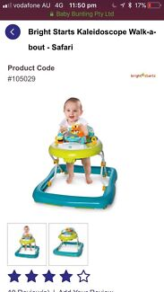 Baby walker and swing for sale
