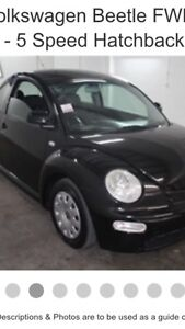 2002 vw beetle Redcliffe Redcliffe Area Preview