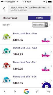 Wanted: Bumbo multi seat