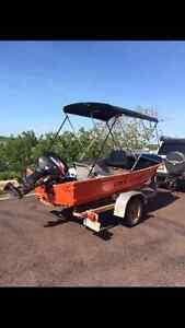 3.75M Tinnie and trailer with 30Hp Suzuki Darwin CBD Darwin City Preview