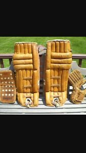 OLD goalie equipment WANTED