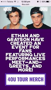 WANTED: 2x VIP DOLAN TWINS SYDNEY Greta Cessnock Area Preview