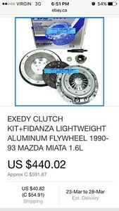 Miata clutch kit / lightweight flywheel set BEST OFFER