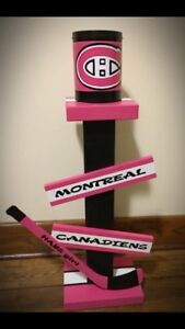 Montreal Canadiens cigarette butt stand