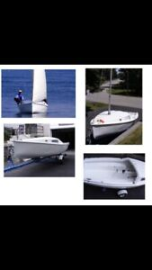 """Sirocco 15"""" Sailboat For Sale - Great Shape"""