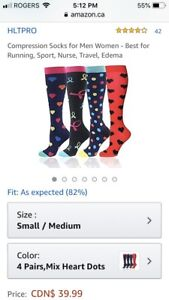 Ladies Funky Compression Socks