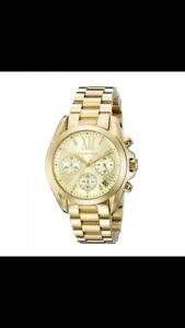 Michael kors Bradshaw  gold tone chronograph women's watch