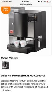 Coffee maker (quick mill professional series)