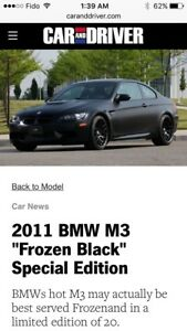 2011 BMW 3M competition package