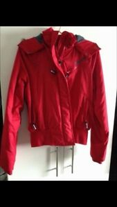 Red Bench Jacket. Size Large