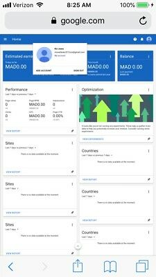 Google Adsense Non Hosted Account For Website Morocco