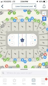 Toronto Maple Leaf playoff tickets -GOLDS